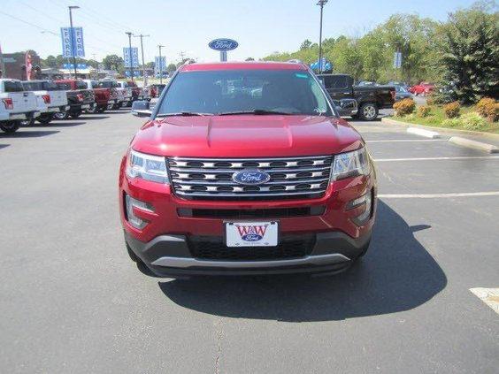 2016 ford explorer xlt exterior front view 985a8
