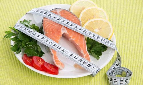 ماهی و کاهش وزن