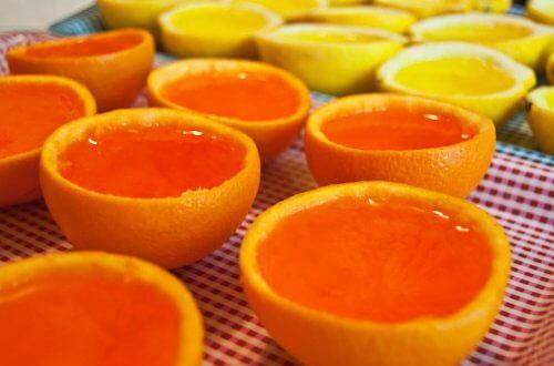ژله پرتقالی