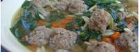 دستور پخت سوپ عروسی ایتالیایی