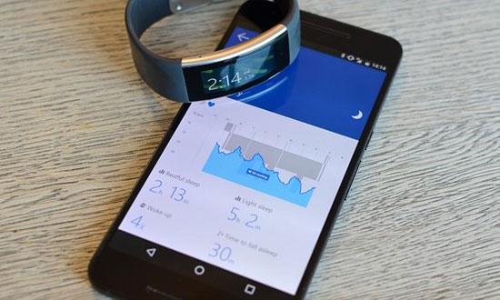 دستبند تندرستی مایکروسافت رونمایی شد