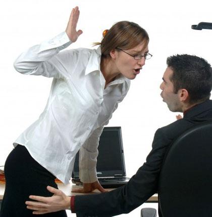 مزاحمت جنسی در محل کار