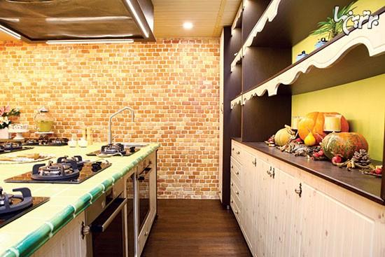 دیزاین داخلی با سرآشپز لاکچری!