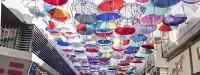کوچه چتری، پاتوقی برای گرفتن عکس های یادگاری