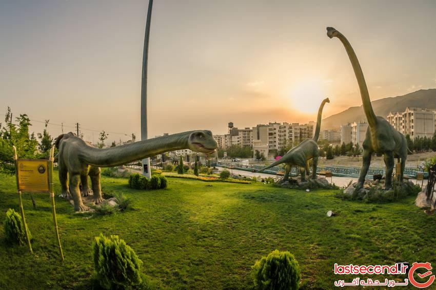 تفریح هیجان انگیز در پارک ژوراسیک تهران