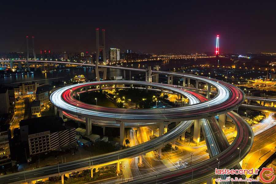 پیچ در پیچ ترین پل جهان