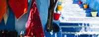 آکاایران: شهر آبی رنگ در مراکش