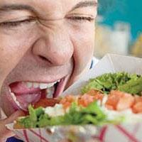 بعد از خوردن يک غذاي سالم، چرا احساس گرسنگي مي کنيد؟
